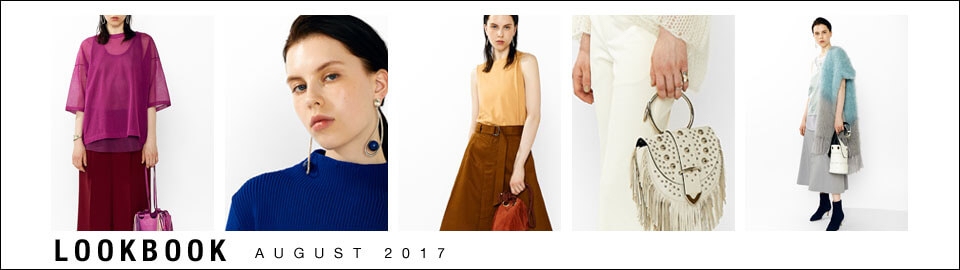 LOOK BOOK - AUGUST2017 -