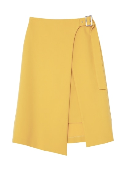 Aラインスリットスカート