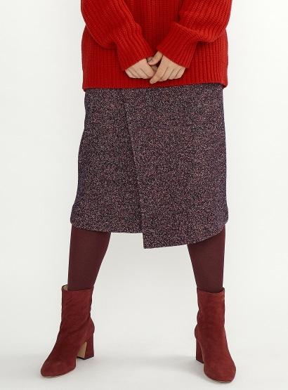 ミックスツイードスカート