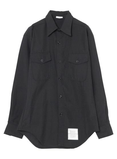 70'Sミリタリーブラックシャツ