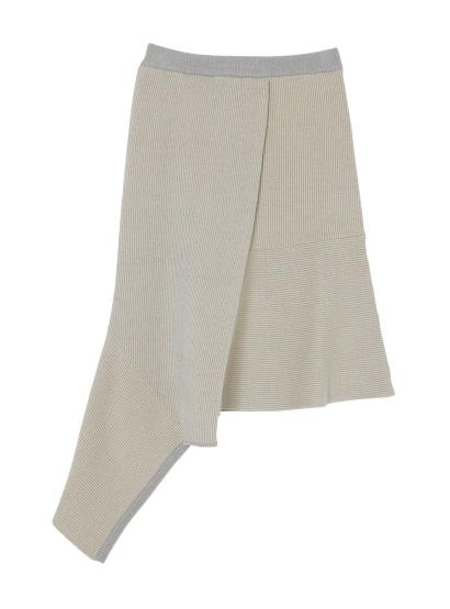 ストライプジャガードスカート