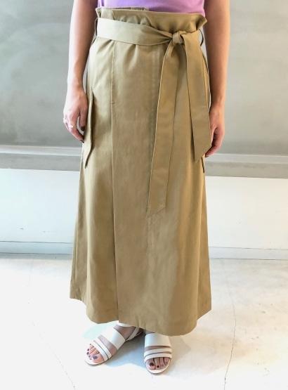 ハードチノ2WAYスカート