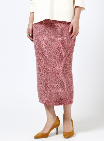カラーヤーンタイトスカート
