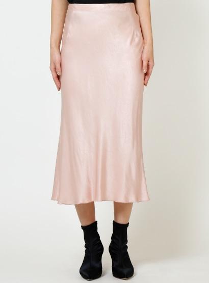 バイヤスサテンスカート