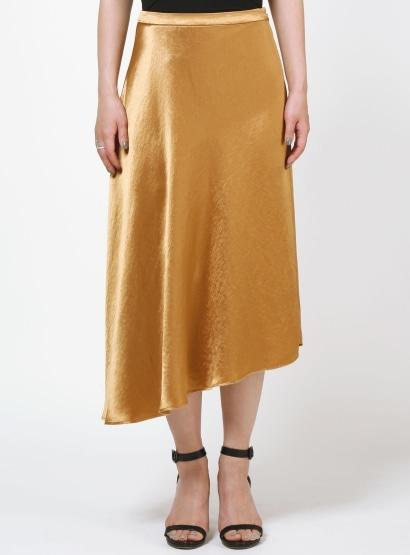 ヘビーサテンスカート