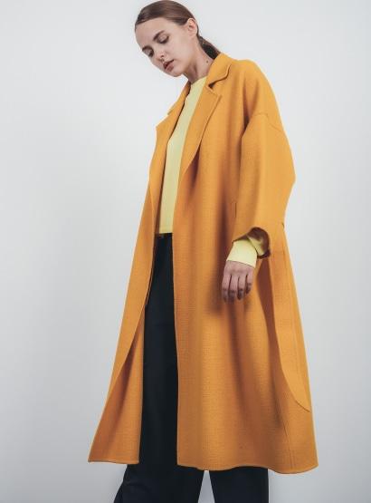 ステンカラーオーバーコート