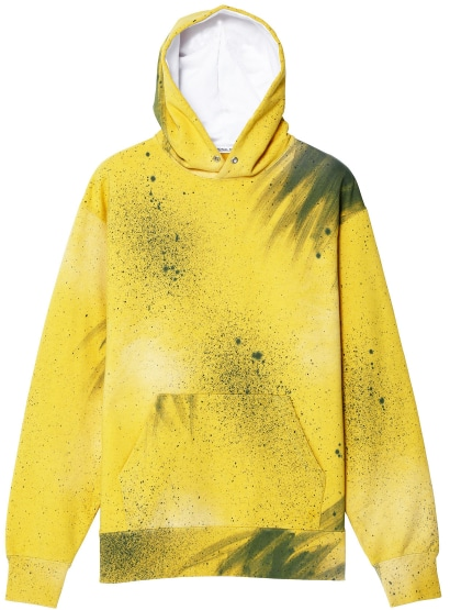 ACTION PAINTING HOODIE