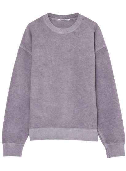 OVER DIE BRUSHED PULLOVER