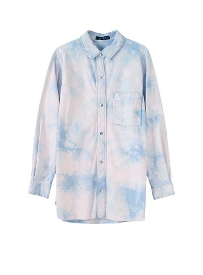 オーバーダイスウェードシャツ