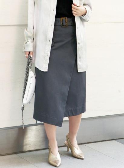 スタニングルアー / トレンチラップスカート
