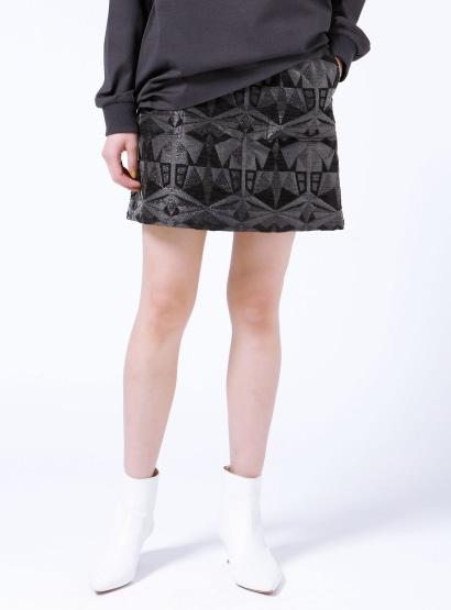 オールドジャガードミニスカート