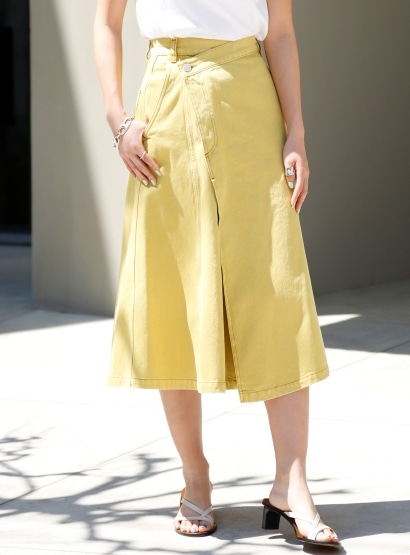 ラップダイドスカート