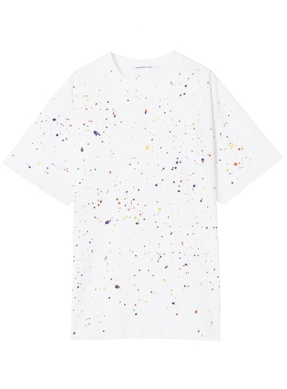 PAINTING CUT OFF LOOSE TEE
