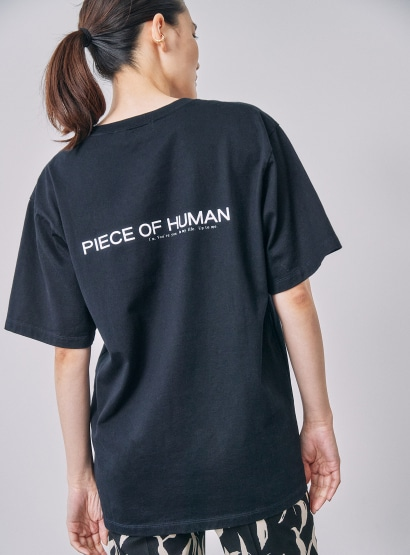 コラボTシャツ PIECE OF HUMAN×STUNNING LURE